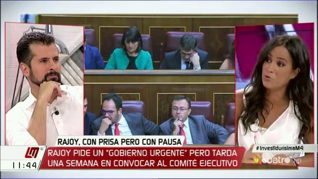 """Begoña Villacís (C's): """"Si seguimos siendo intransigentes, no tendremos credibilidad"""""""