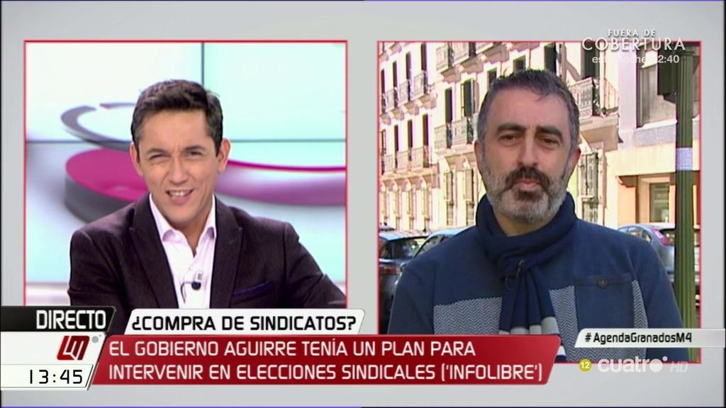 """Tono Calleja destapa la agenda de Granados: """"Parece que es una práctica habitual"""""""