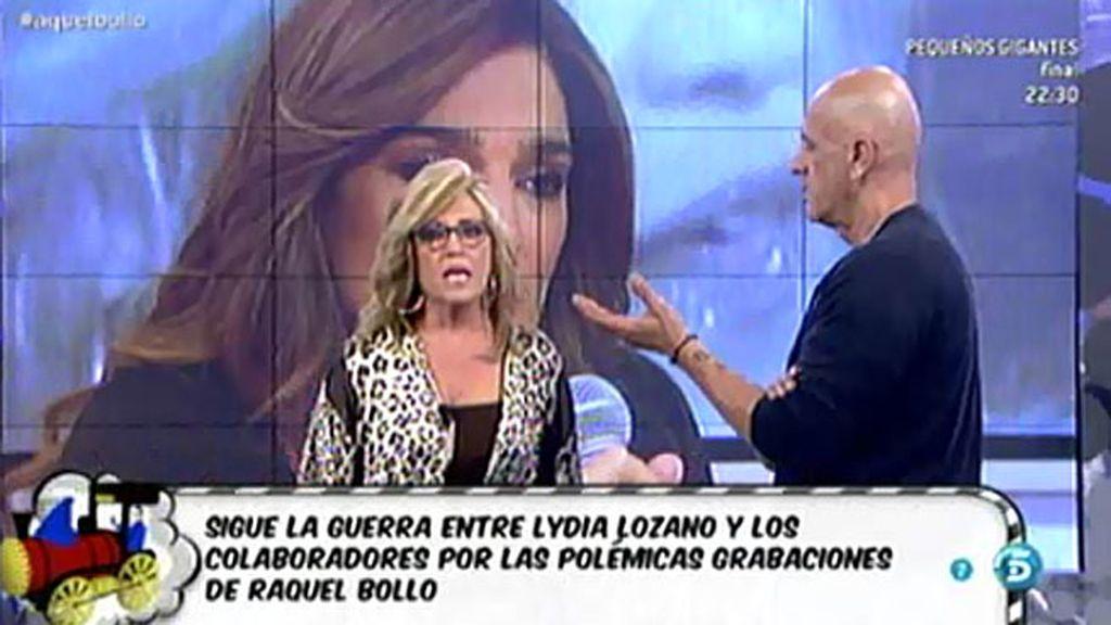 "Lydia Lozano recrimina a Kiko Matamoros que le llamase ""sinvergüenza"""