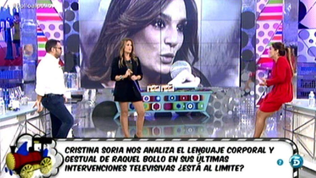 Cristina Soria analiza los gestos de Raquel