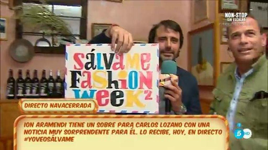 ¡La sorpresa de 'Sálvame' a Carlos Lozano!
