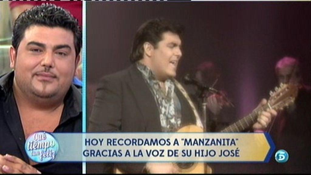"""José Ortega, hijo de 'Manzanita': """"Todavía no es fácil ver vídeos de mi padre"""""""