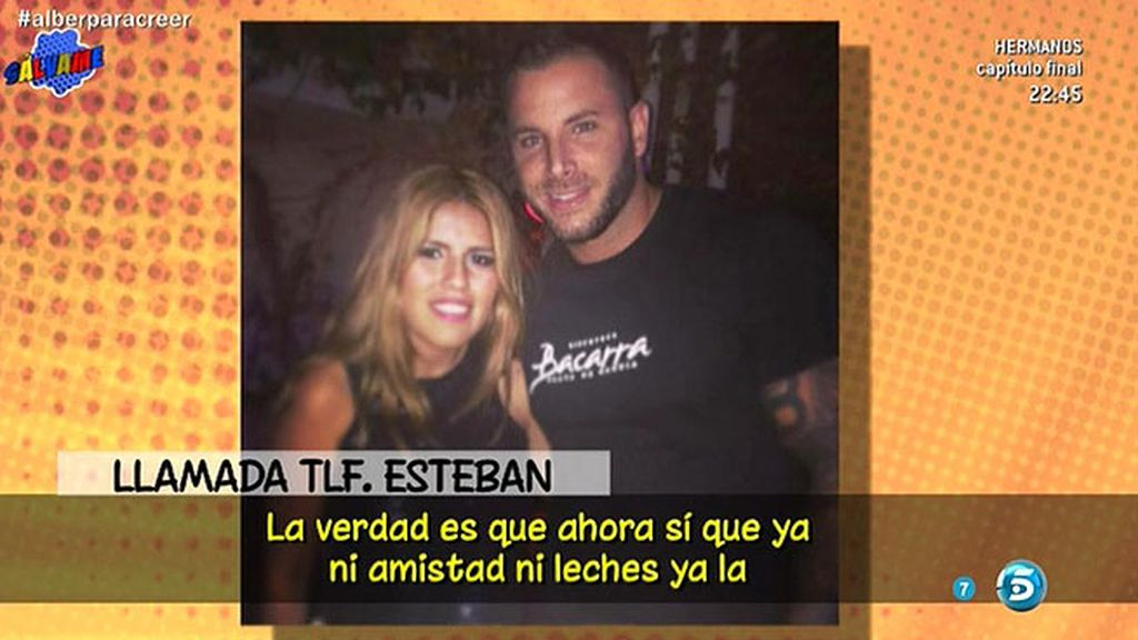 "Esteban: ""Chabelita me ha utilizado"""