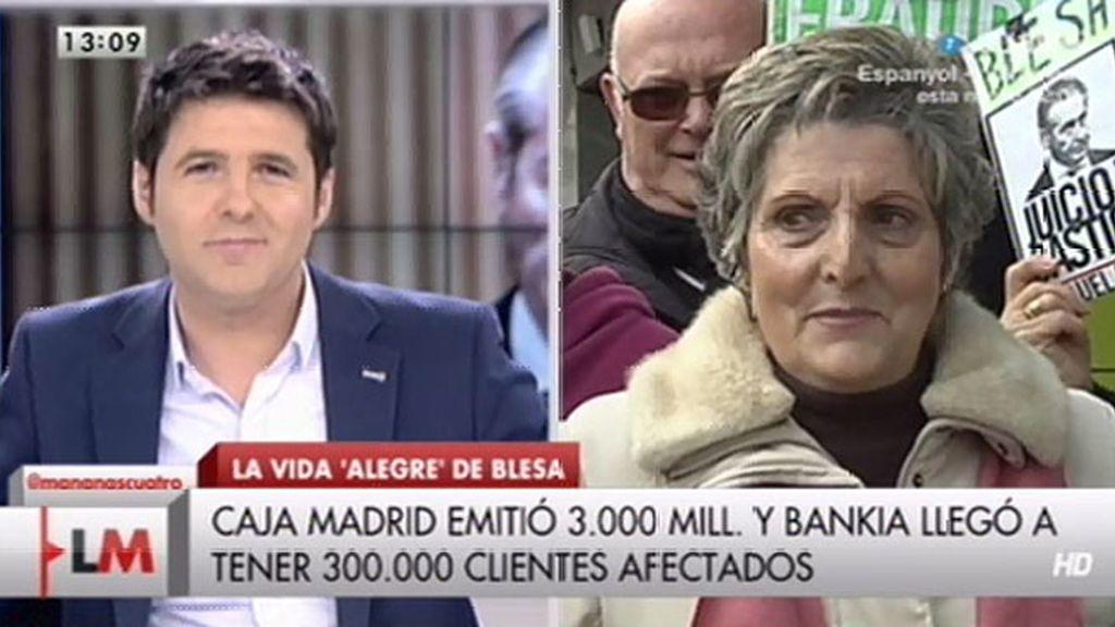 """Ana María, preferentista: """"Se está riendo de nosotros, que nos devuelva el dinero"""""""