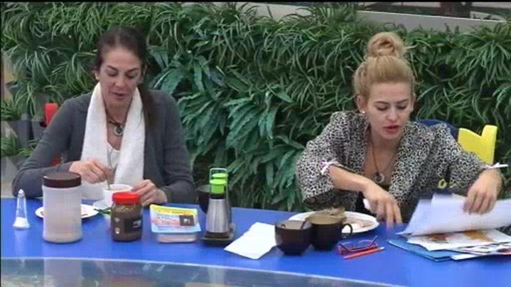 """Ángela, a Chari sobre Belén: """"Me he dado cuenta de que tiene memoria fotográfica"""""""