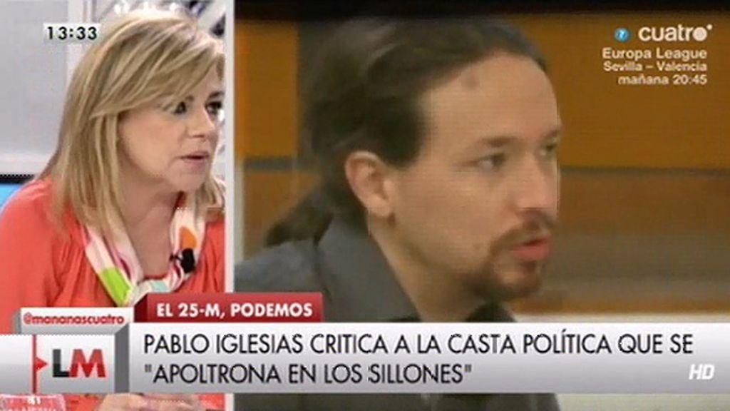 """Valenciano, sobre Pablo Iglesias: """"Es un vídeo demagógico y lleno de falsedades"""""""