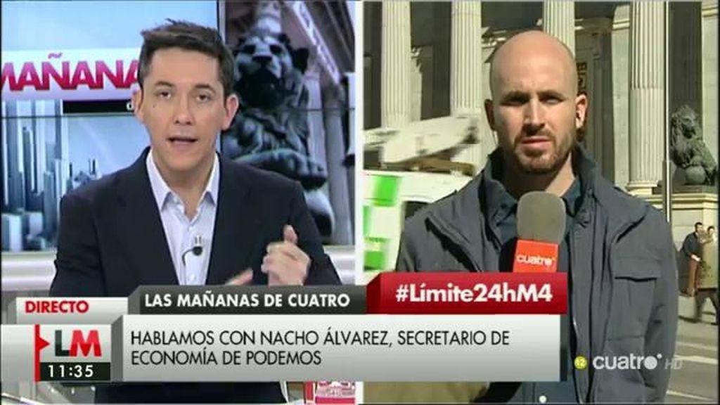 """Nacho Álvarez: """"La del PSOE parece una propuesta a la desesperada"""""""