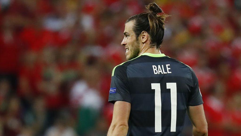 Gareth Bale lo intentó todo: dos tiros muy lejanos que llevaron peligro