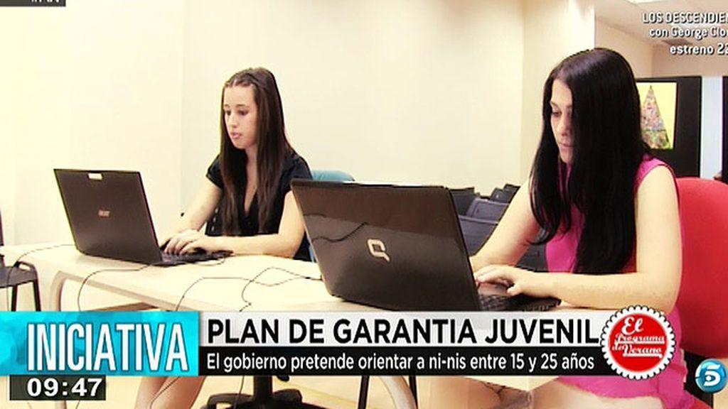 El gobierno quiere orientar a jóvenes entre 15 y 25 años con el plan de garantía juvenil