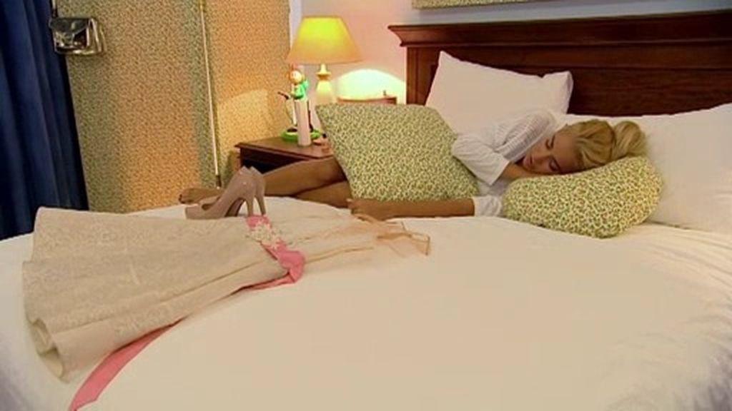 """Marta, toda una bella durmiente justo antes de su esperada """"boda"""""""