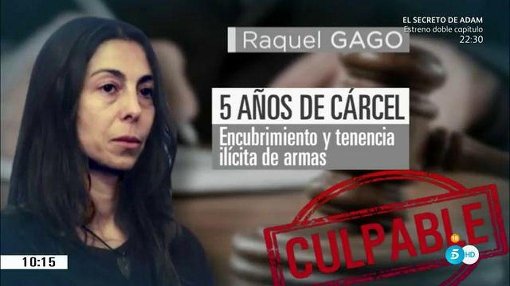 Raquel Gago, la incógnita del asesinato de Isabel Carrasco