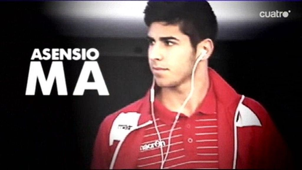 Así  jugó Marco Asensio su primer partido con el Mallorca tras fichar por el Madrid