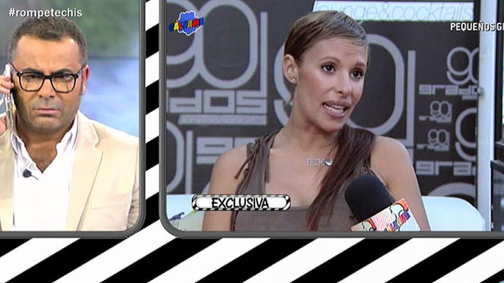 Isabel Pantoja habla en directo con Jorge Javier sobre Techi