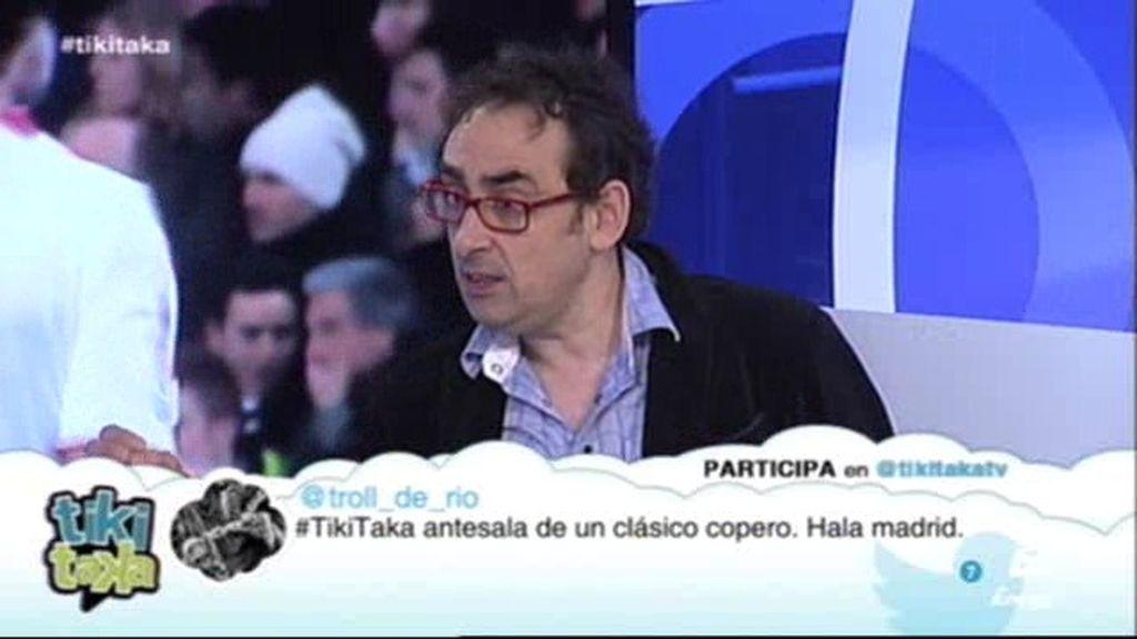 """Iturralde González: """"Los jugadores han ido a pegar cuando no les veía el árbitro"""""""