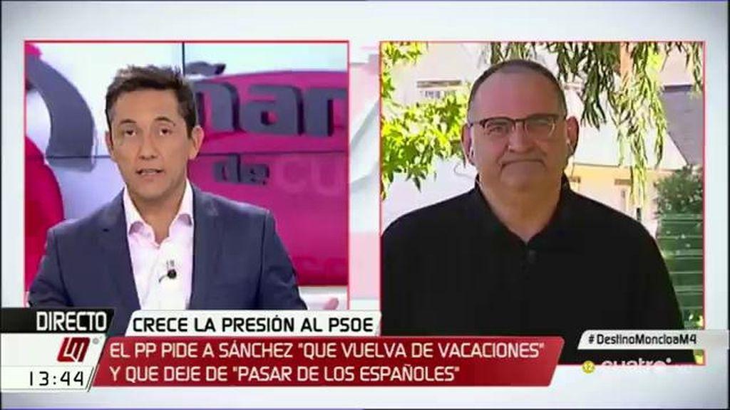 """Antón Losada: """"Hacer un pacto contra la corrupción con el PP es un 'paripé anticorrupción'"""""""