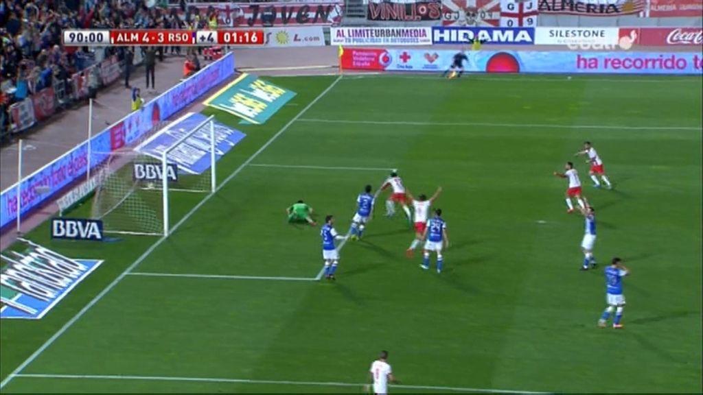 Gol de Hicham (Almería 4-3 Real Sociedad)