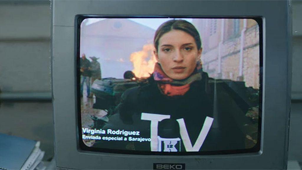 Virginia se convierte en corresponsal en la Guerra de los Balcanes