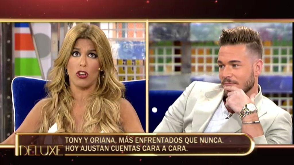 "Tony: ""Oriana está molesta porque yo la dejé"""