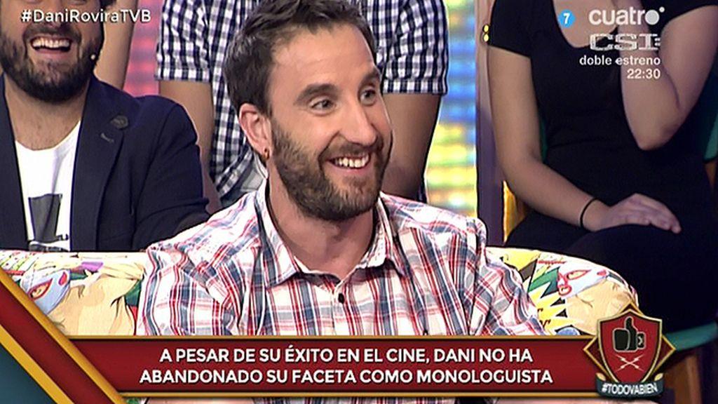 """Dani Rovira, de la secuela de 'Ocho apellidos': """"Vas a flipar con mi acento catalán"""""""