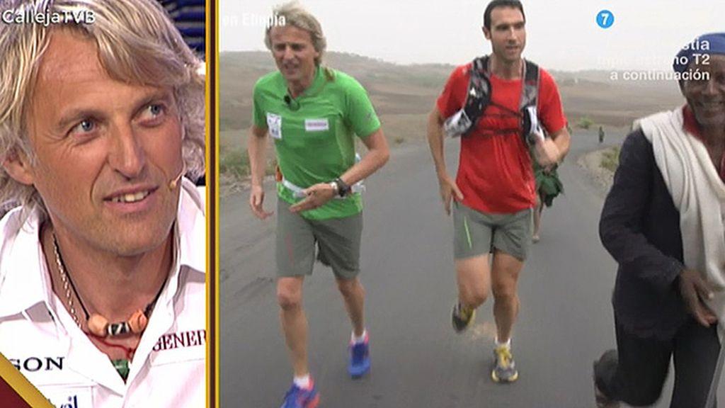 Avance de 'Etiopía, héroes de maratón', el próximo desafío de Calleja