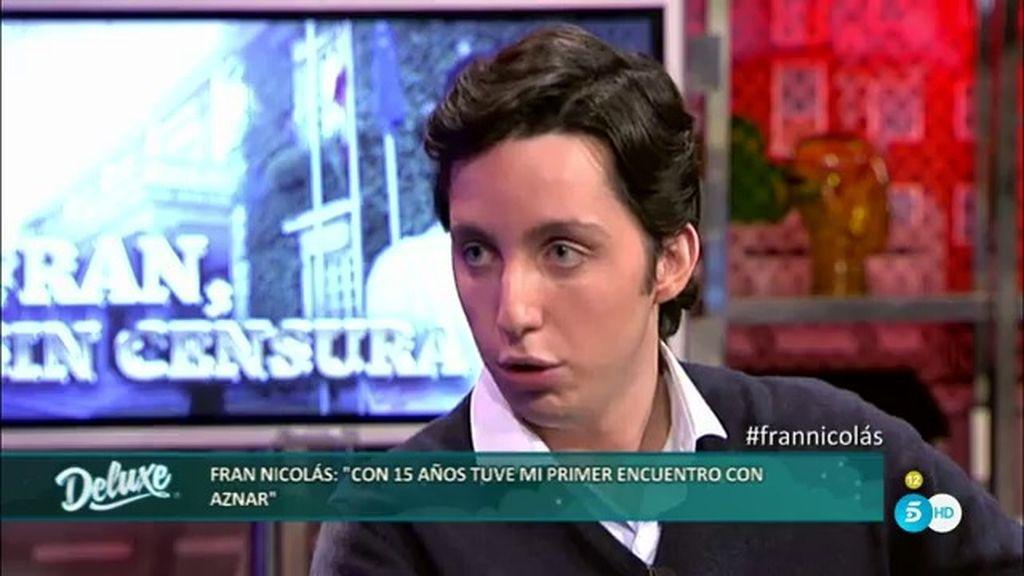 """Fran Nicolás: """"Ana Botella es la persona más falsa que hay en el PP"""""""