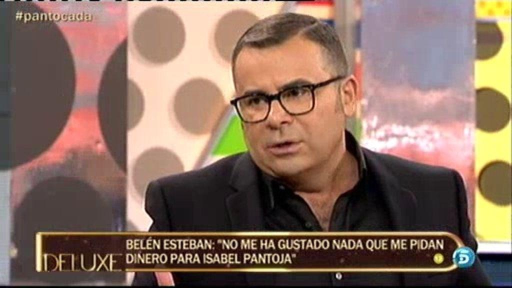 """Jorge Javier: """"Yo también he recibido la petición de Anabel Pantoja"""""""