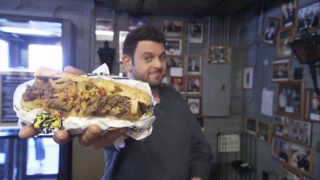 Adam Richman busca el mejor sándwich de la región sur de los Estados Unidos