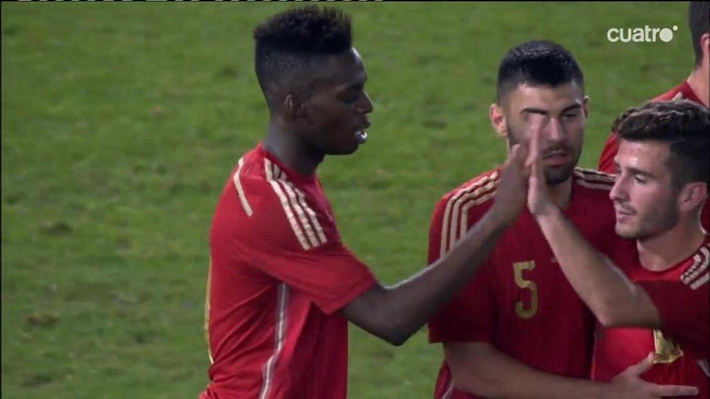 ¡Asensio dirige la contra, se cuela hasta la cocina y le regala el gol a Iñaki Williams!
