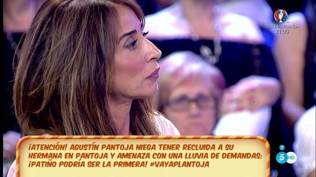"María Patiño, a Agustín Pantoja y  Cynthia Ruiz: ""A mí no me toquéis porque no podéis"""