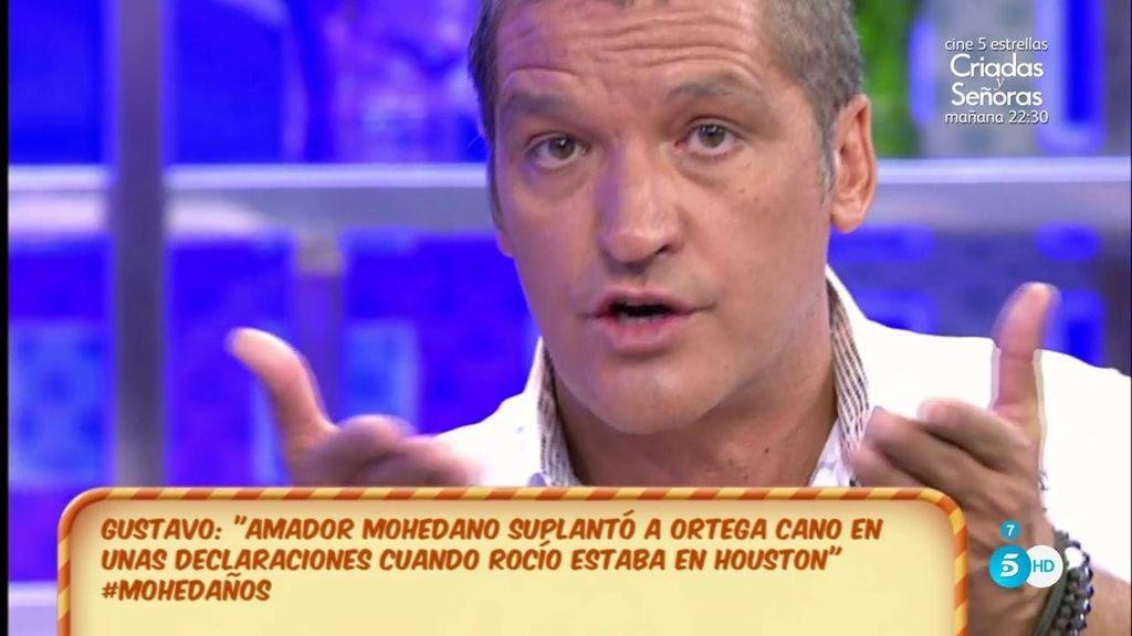 Amador Mohedano dio una entrevista suplantando a Ortega Cano, según Gustavo