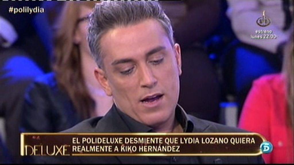 Lydia Lozano no quiere a Kiko Hernández