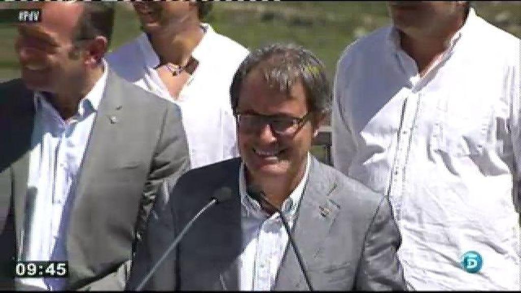 """Artur Mas: """"No hay planes A, B, C, D y E. Solo hay un plan, que es votar"""""""