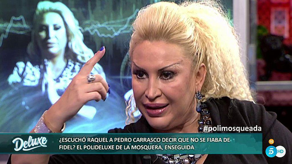 "Raquel: ""Pedro, desde donde esté, está orgulloso de que haya plantado cara a Rocío"""