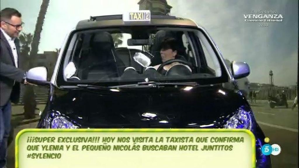 Lourdes, la taxista que llevó a Ylenia y a Fran en Barcelona, cuenta su experiencia