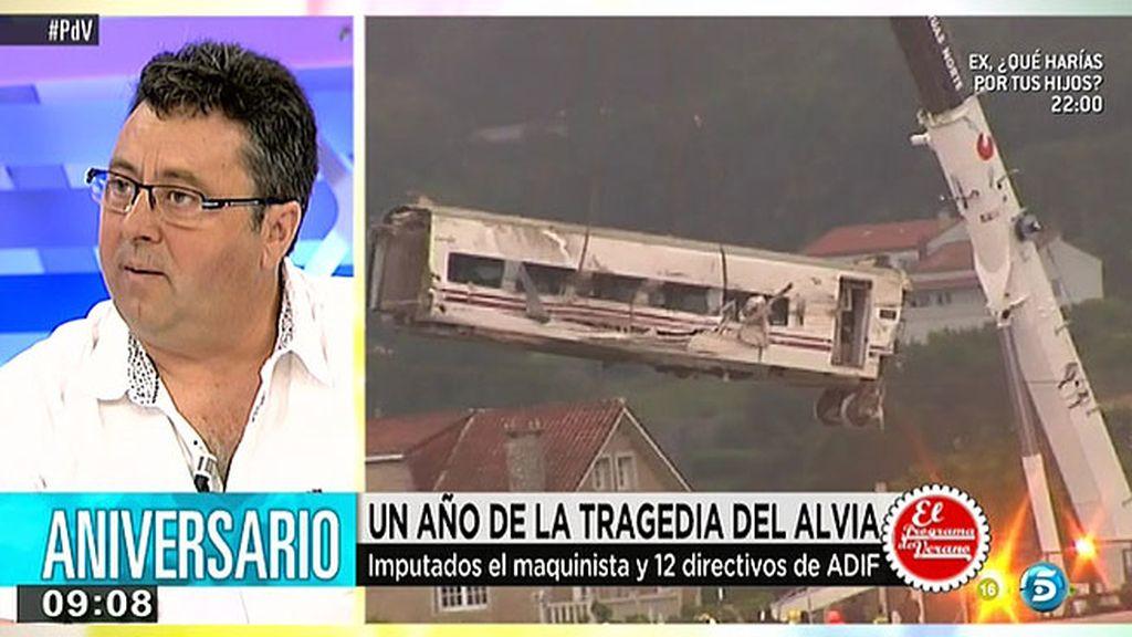 """El secretario general del sindicato ferroviario: """"Ni el ministerio de fomento, ni Renfe, ni Adif han colaborado en la investigación"""""""