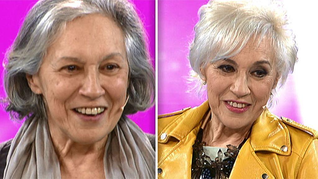 Rosa le pone las cosas complicadas a Natalia Ferviú en la peluquería