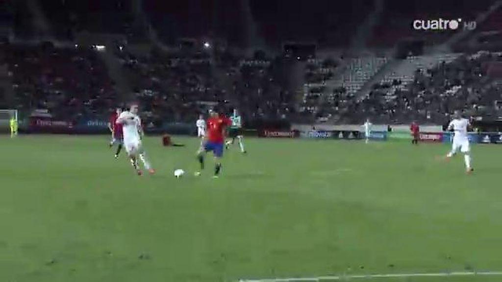 Elustondo salva el empate en el último minuto