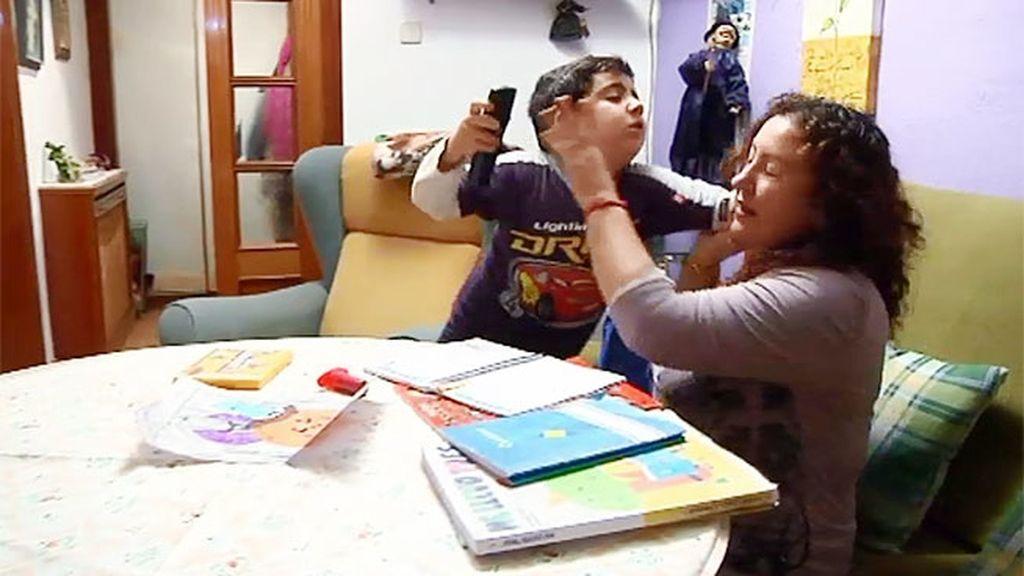 Miguel, un niño incapaz de controlar sus violentas rabietas