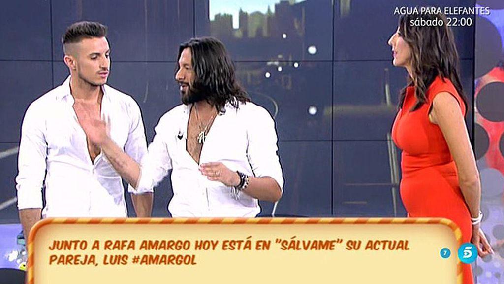 Rafael Amargo nos presenta a su pareja