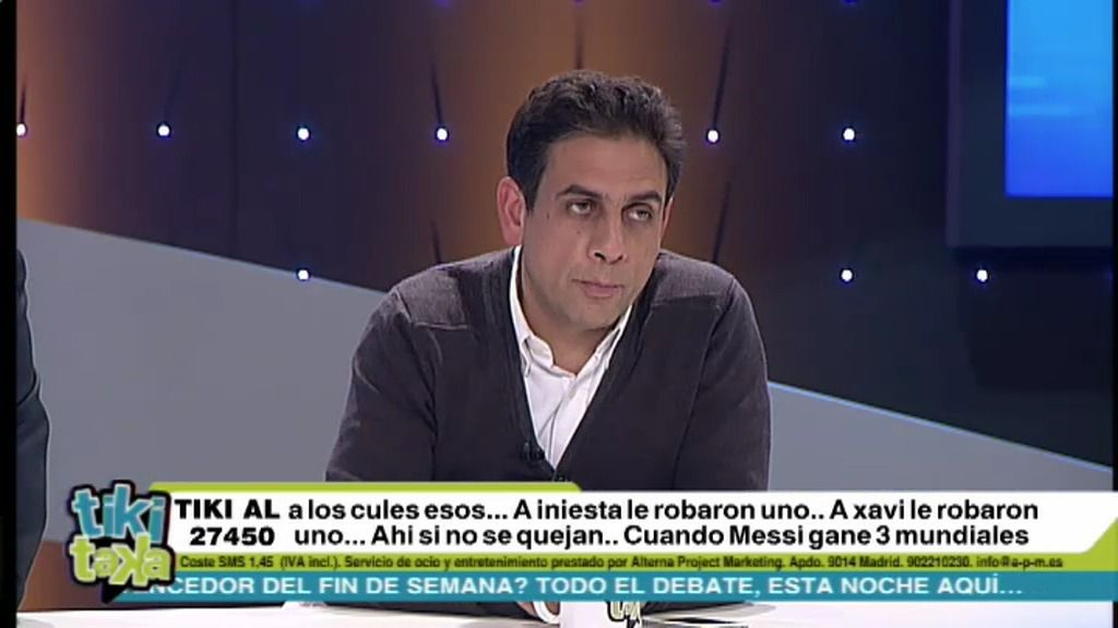 """Elías Israel: """"Cristiano ha jugado un partido impropio de un Balón de Oro"""""""