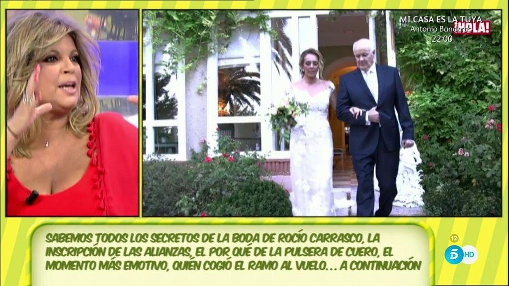 """Terelu: """"Que Mariñas diga eso demuestra el gran desconocimiento que tenía de Rocío Carrasco"""""""