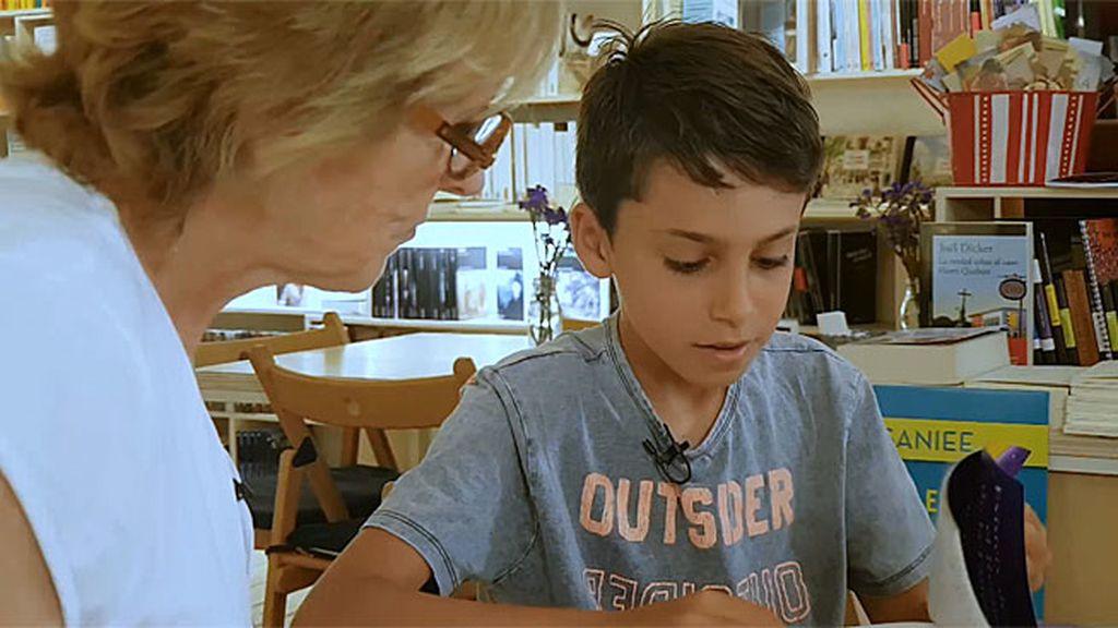 """Marcel, nueve años y las ideas claras: """"Dejé 'Un caballo contra Roma', no entendía nada"""""""