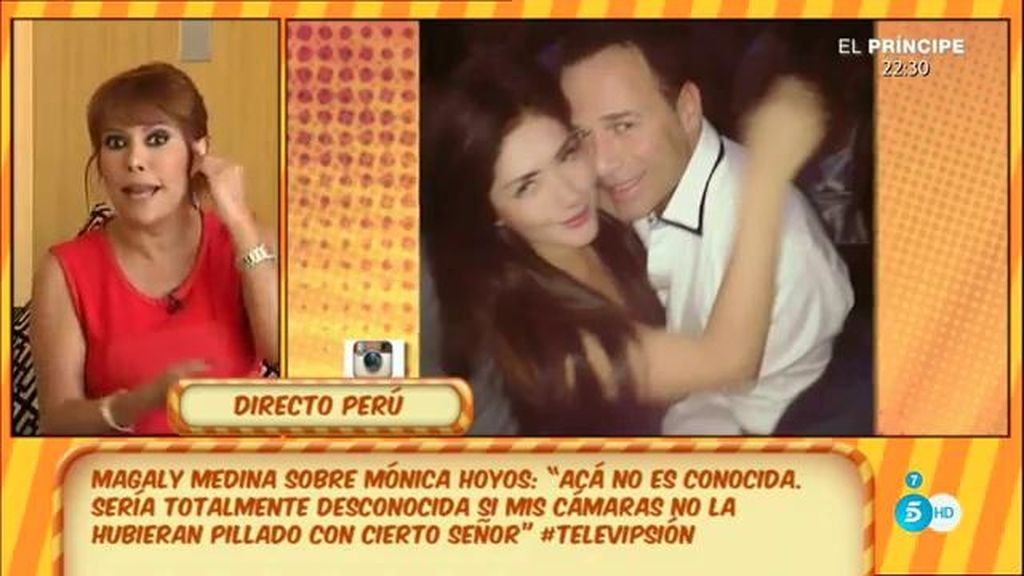 Magaly M., presentadora en Perú, asegura que la novia de Carlos no es conocida