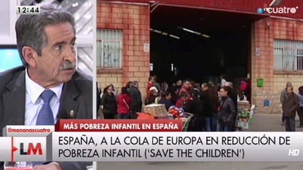"""Miguel Ángel Revilla, sobre Montoro y Rajoy: """"Se les tenía que caer la cara de vergüenza"""""""