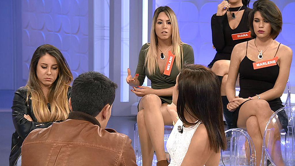 """Alba, sobre Melani: """"Yo creo que es más interesada que interesante"""""""
