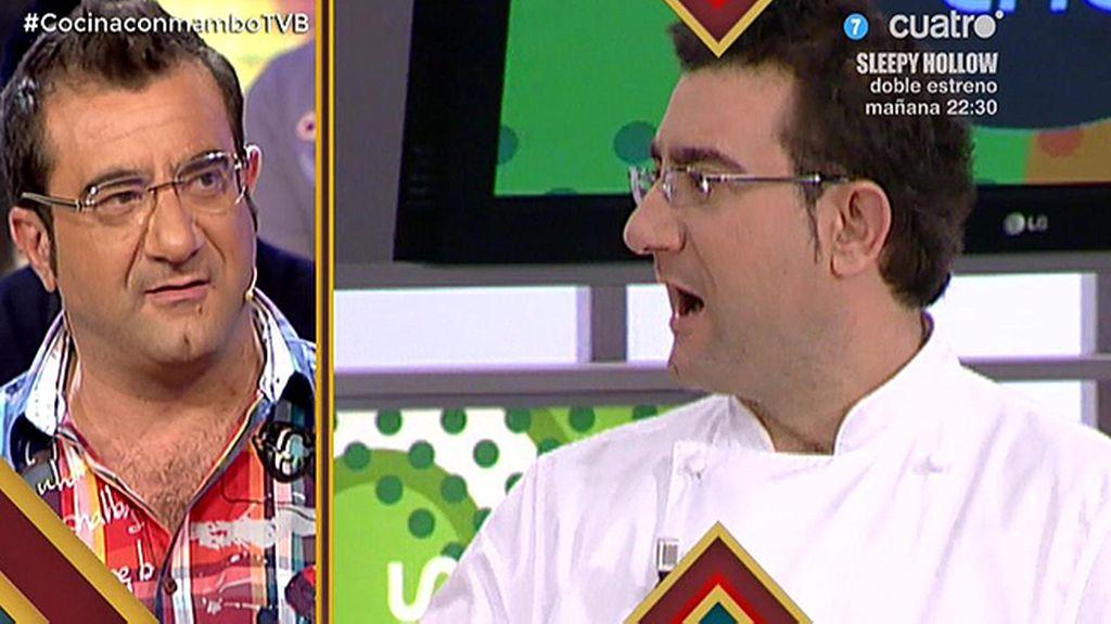 Sergio Fernández: ahora, presentador; antes aprendiz de cocina