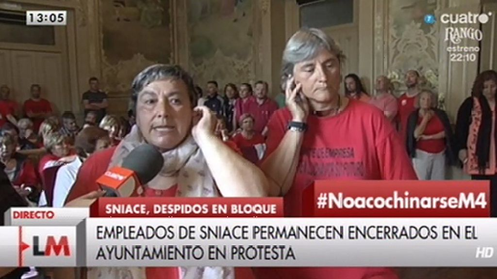 "Milagros, despedida de Sniace: ""No vamos a dejar de luchar"""