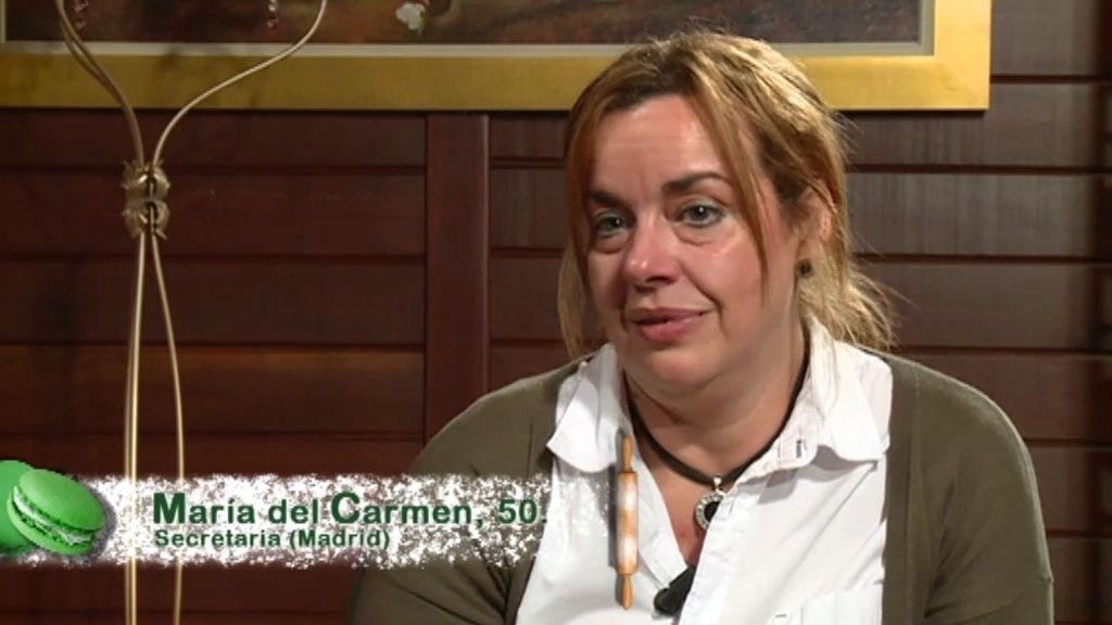 "Maria del Carmen: ""Aquí todos luchan para que se les vea"""