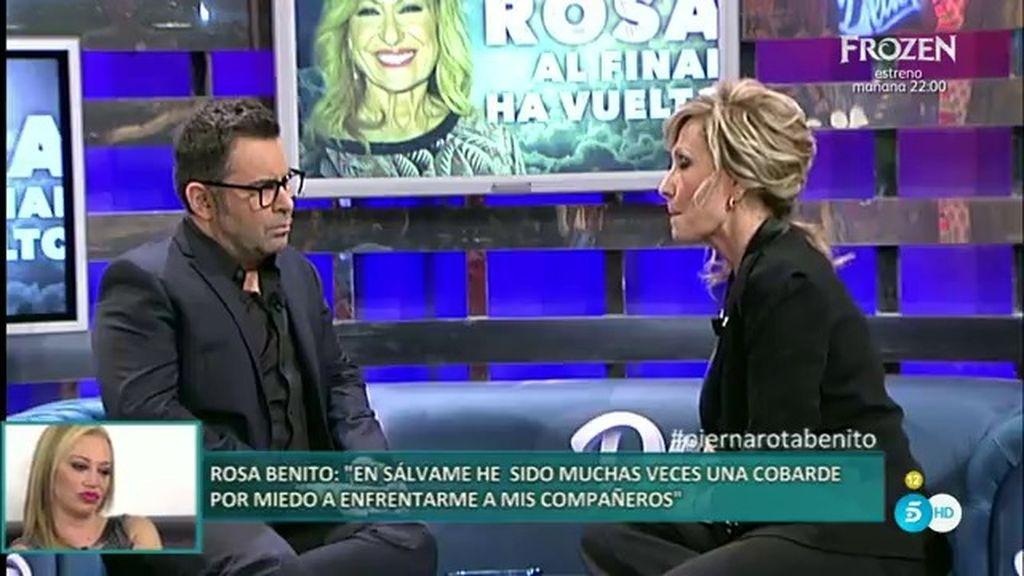 """Rosa Benito: """"Me derrumbé y me puse a temblar al ver que no iba a volver al programa"""""""