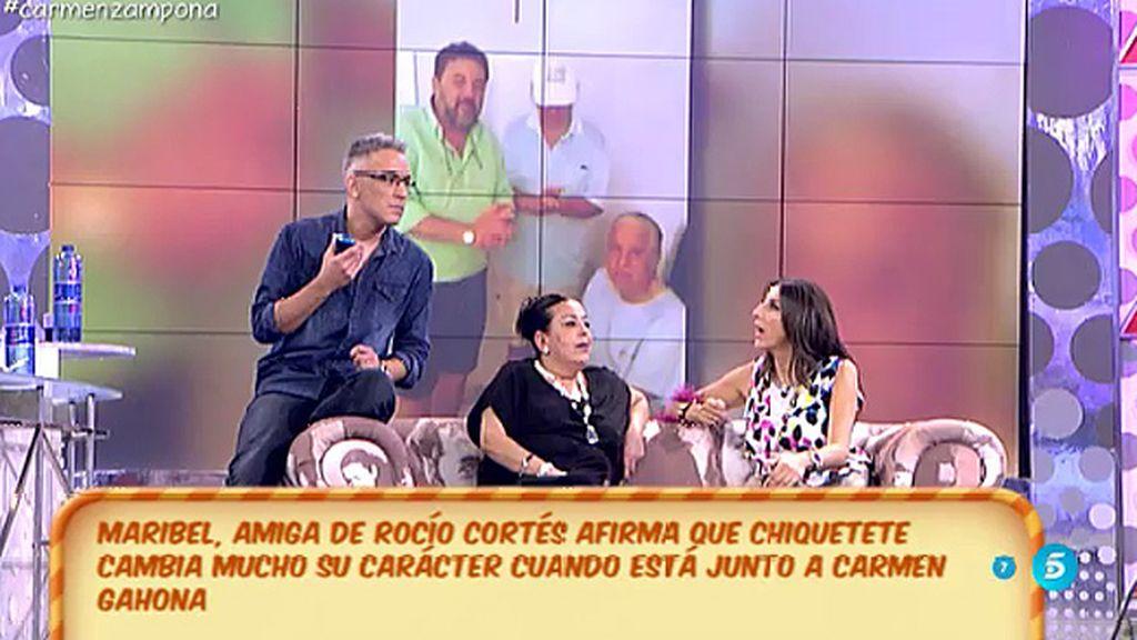 """Amparo Cazalla desmiente: """"Carmen Gahona es como si fuera una hermana"""""""